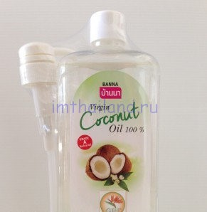Кокосовое масло Banna 1 литр