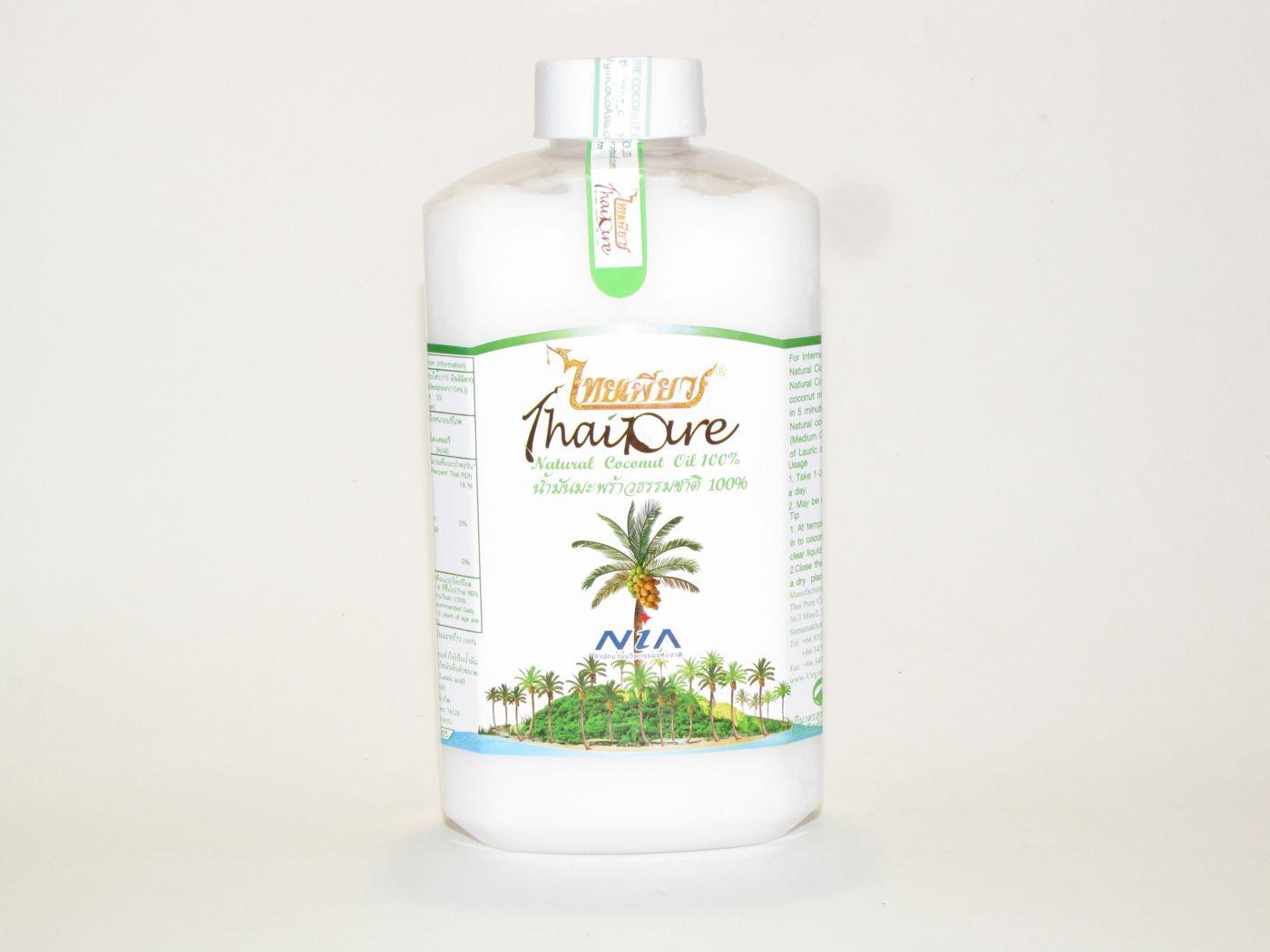Кокосовое масло Thai Pure 1 литр