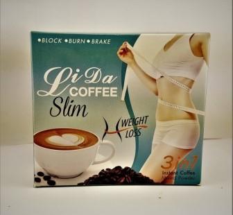 Кофе ЛиДа для похудения LiDa Coffee Slim 150 гр