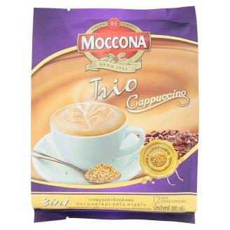 Тайский кофе растворимый Капучино Moccona Trio 12 шт по 25 гр