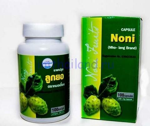 Noni Capsule - сок нони в капсулах 100 шт