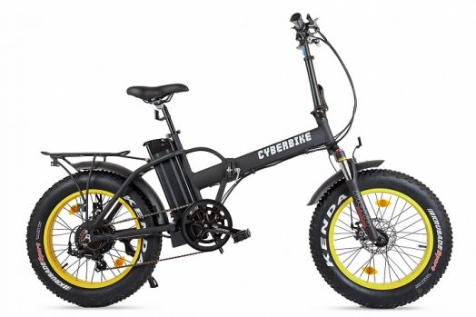 Велогибрид Cyberbike 500 Вт Черный с желтым