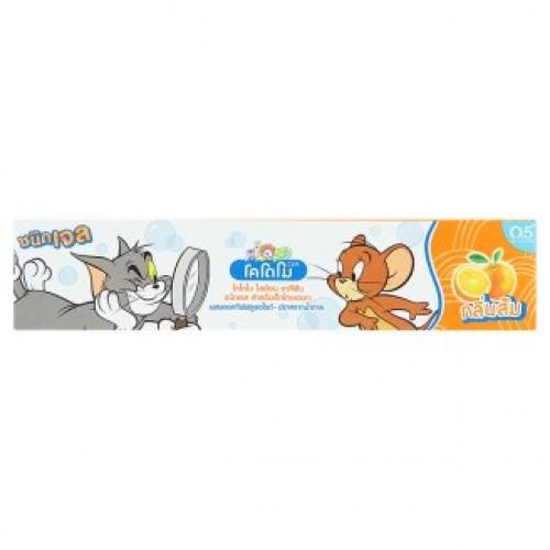 Тайская зубная паста для детей без сахара Kodomo Orange 40 гр