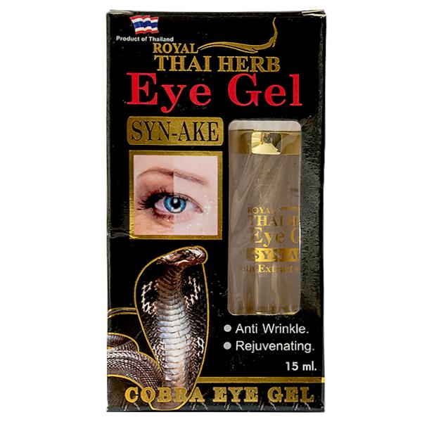Гель для кожи вокруг глаз осветляющий Кобра Royal Thai Herb Syn 15 мл