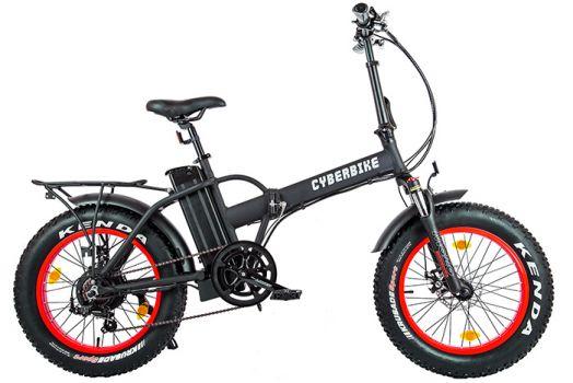 Велогибрид Cyberbike 500 Вт Черный с красным