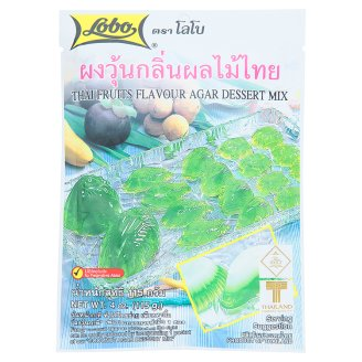 Домашний мармелад на основе агар-агар Lobo Thai Fruits Flavour 115 гр