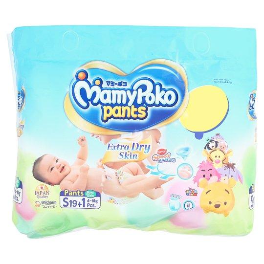 Детские подгузники-трусики Экстра впитывающие S MamyPoko Pants 19 шт