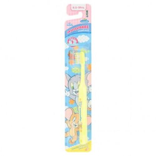 Детская зубная щетка для малышей Том и Джерри Kodomo 1 шт