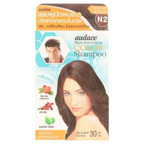 Оттеночный шампунь для волос Audace цвет Каштановый шатен