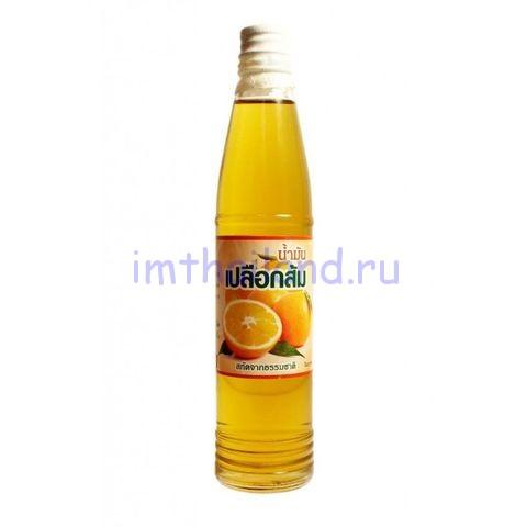 Кунжутное масло Orange oil 95 мл с добавлением апельсинового эфирного