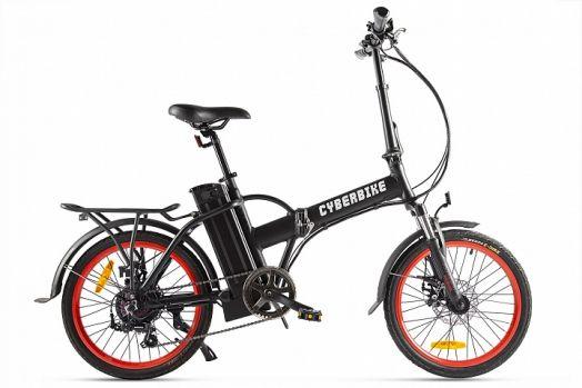 Велогибрид Cyberbike LINE Черный с красным