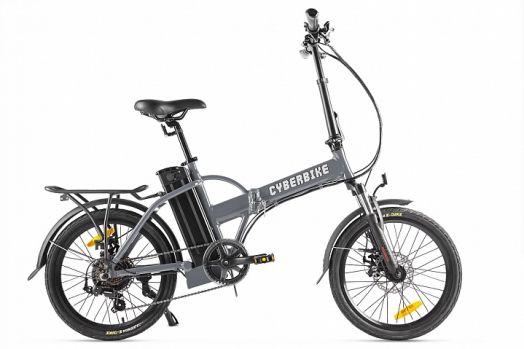 Велогибрид Cyberbike LINE Серый