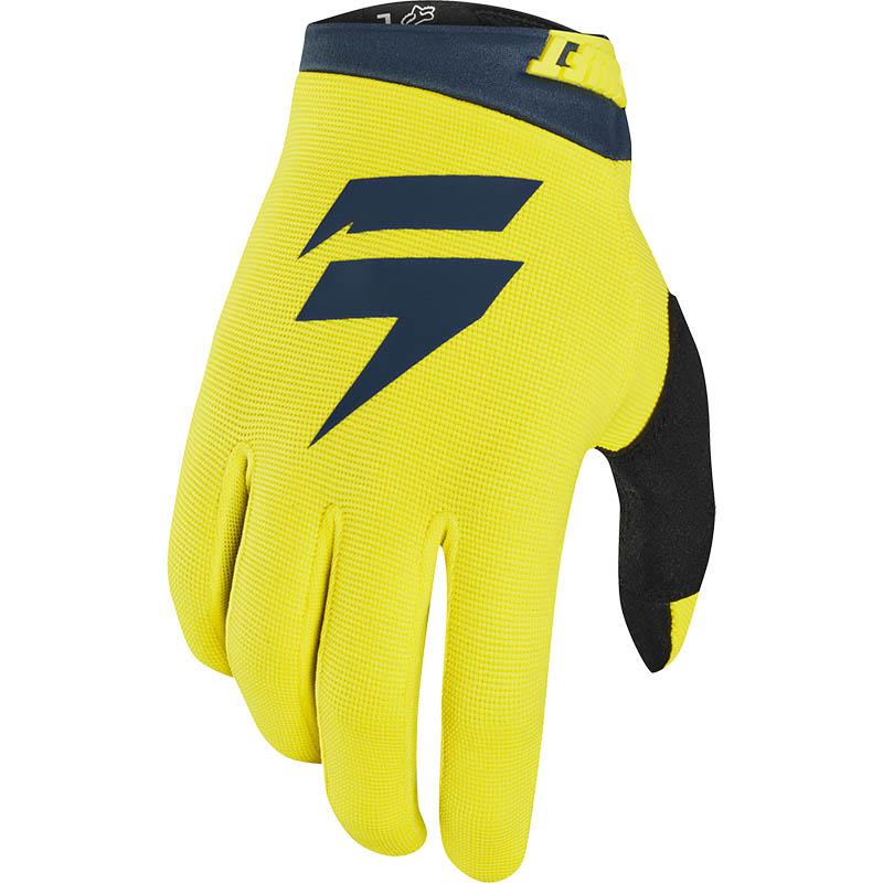 Shift - 2020 Whit3 Air Yellow/Navy перчатки, желто-синие