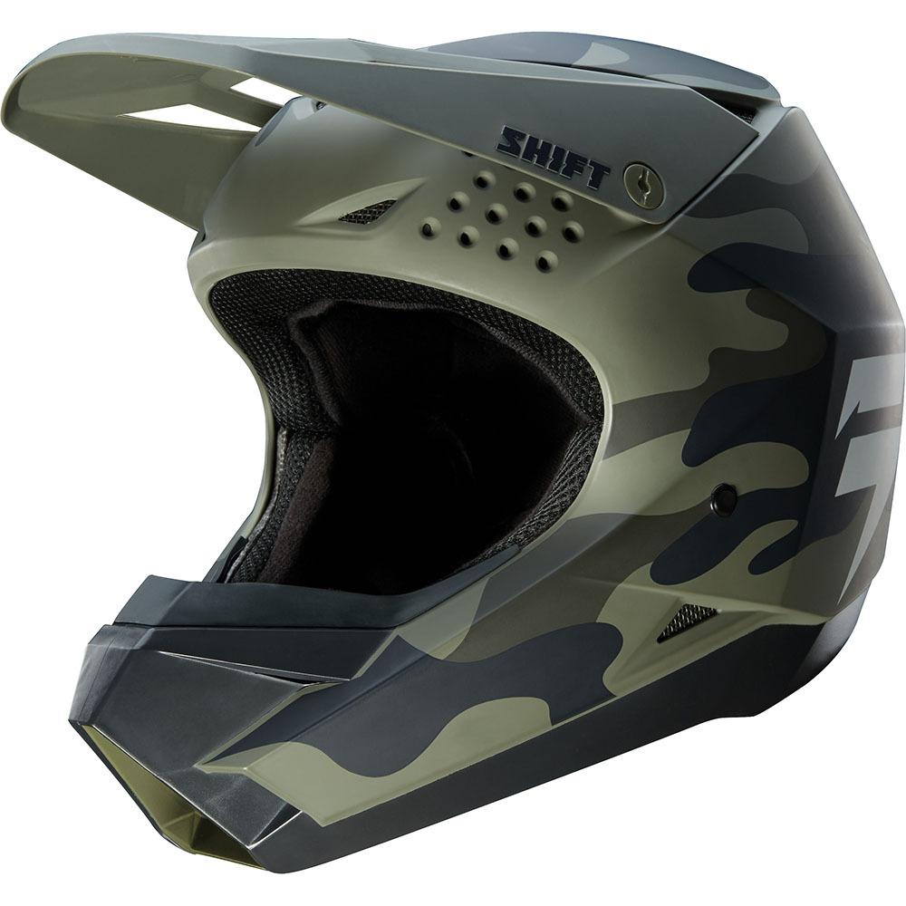 Shift - 2019 Whit3 Camo шлем, зеленый