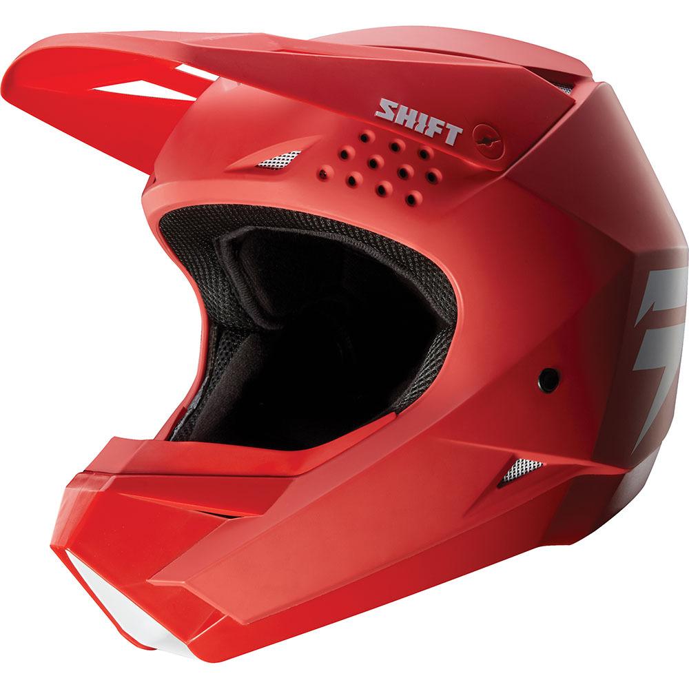 Shift - 2019 Whit3 Red шлем, красный