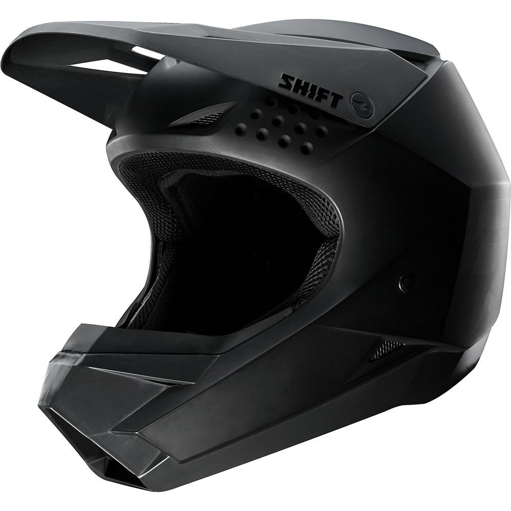 Shift - Whit3 Youth Matte Black шлем подростковый, черный матовый