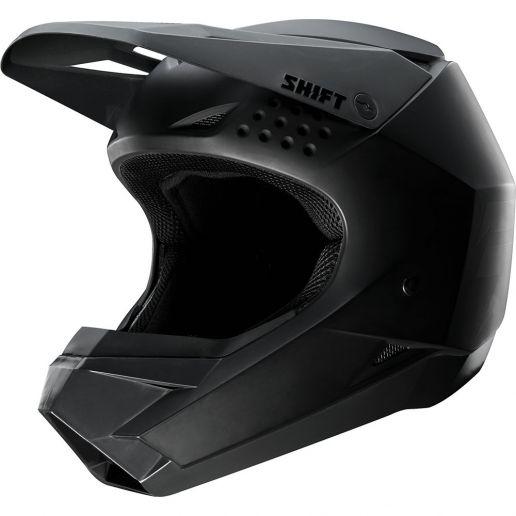 Shift - 2019 Whit3 Matte Black шлем, черный матовый