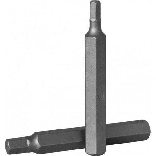 D175H60 Бита 10 мм, шестигранная 6 мм, 75 мм, S2 материал