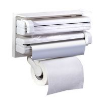 Кухонный диспенсер 3 в 1 Triple Paper Dispenser