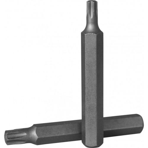 D175T60 Бита 10 мм, Torx Т-60, 75 мм, S2 материал