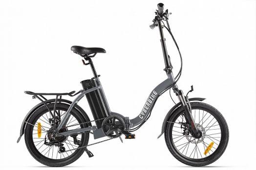 Велогибрид Cyberbike FLEX Серый