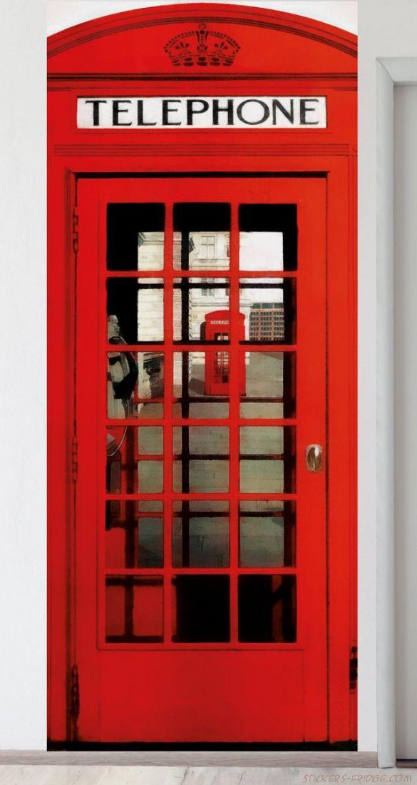 Панно на стену - Телефонная будка