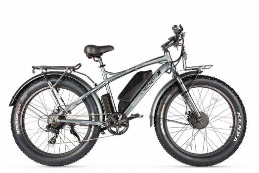 Велогибрид VOLTECO BIGCAT DUAL NEW Серый