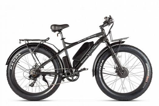 Велогибрид VOLTECO BIGCAT DUAL NEW Черный