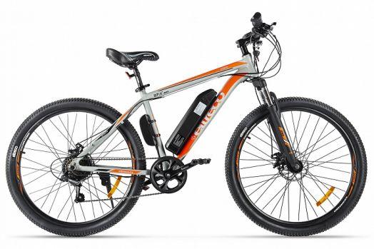 Велогибрид Eltreco XT 600 Серо оранжевый