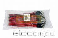РАЗЪЁМ питания штекер 2.1 х 5.5 x 10 мм с проводами 20 см REXANT