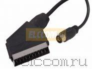 Шнур SCART х DIN 5pin Plug 1.5м REXANT