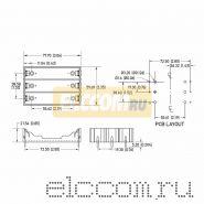 Батарейный отсек 3 х 18650 Li-ion (на плату)