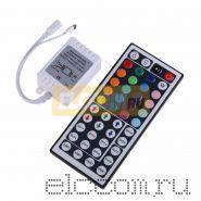 LED мини контроллер ИК(IR), 72W/144W, 44 кнопки, 12V/24V