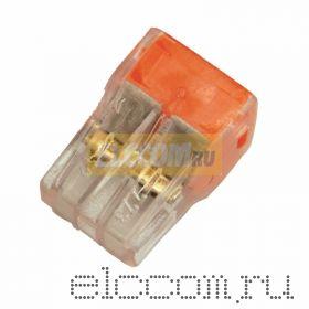 Электромонтажные экспресс-клеммы 773-324 (4*2.5мм2) 100шт REXANT