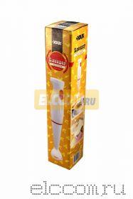 Блендер ручной погружной DUX 0200; 300 Вт, 2-х скоростной, цвет: белый