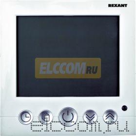 Терморегулятор с дисплеем и автоматическим программированием (3680Вт) REXANT