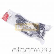 Удлинитель на рамке 50м (1 роз.) 3х0.75 с заземлением черный REXANT (Сделано в РОССИИ)