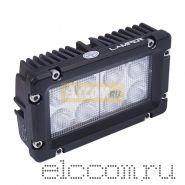 Светодиодная фара рабочего света поворотная прямоугольная 24W