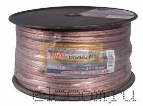 Кабель акустический 2x2.5 мм2 100м BLUELINE PROCONNECT