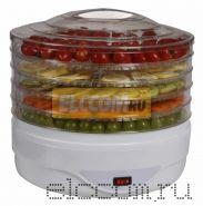 Электросушилка для овощей и фруктов DUX 0302; 350 Вт, цвет: белый