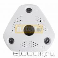 Панорамная камера AHD 1. 3Мп (960P), объектив Fish Eye 1, 29 мм (180°/ 360°), с ИК до 100м?.