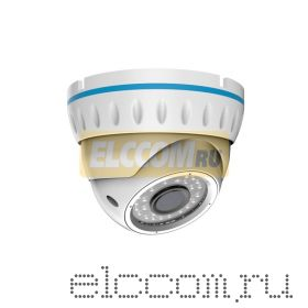 Купольная уличная камера AHD 1. 3Мп (960P), объектив 2. 8-12 мм. , ИК до 30 м.