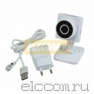 Беспроводная камера WiFi Smart 1. 0Мп (720P), объектив 3. 6 мм. , ИК до 10 м.