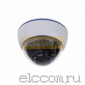 Купольная камера AHD 4. 0Мп, объектив 2. 8-12 мм. , ИК до 30 м. (Корпус белый)