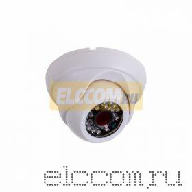 Купольная камера IP 2. 4Мп Full HD (1080P), объектив 2. 8 мм. , ИК до 20 м. , PoE