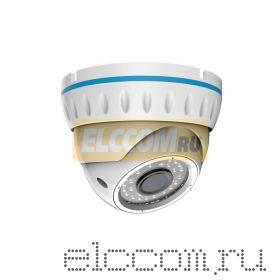 Kупольная уличная камера IP 2. 1Мп Full HD (1080P), объектив 2. 8-12 мм. , ИК до 30 м. , PoE