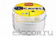Кабель DG 113+CU/CU (75 Ом) 250м белый CAVEL