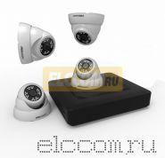 Комплект видеонаблюдения на 4 внутренние камеры AHD-M (без HDD) ProConnect