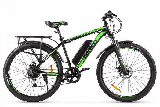 Велогибрид Eltreco XT 800 new Черно зеленый