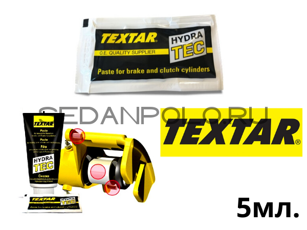 Монтажная паста HYDRATEC для Пальцев и цилиндра TEXTAR 5ml